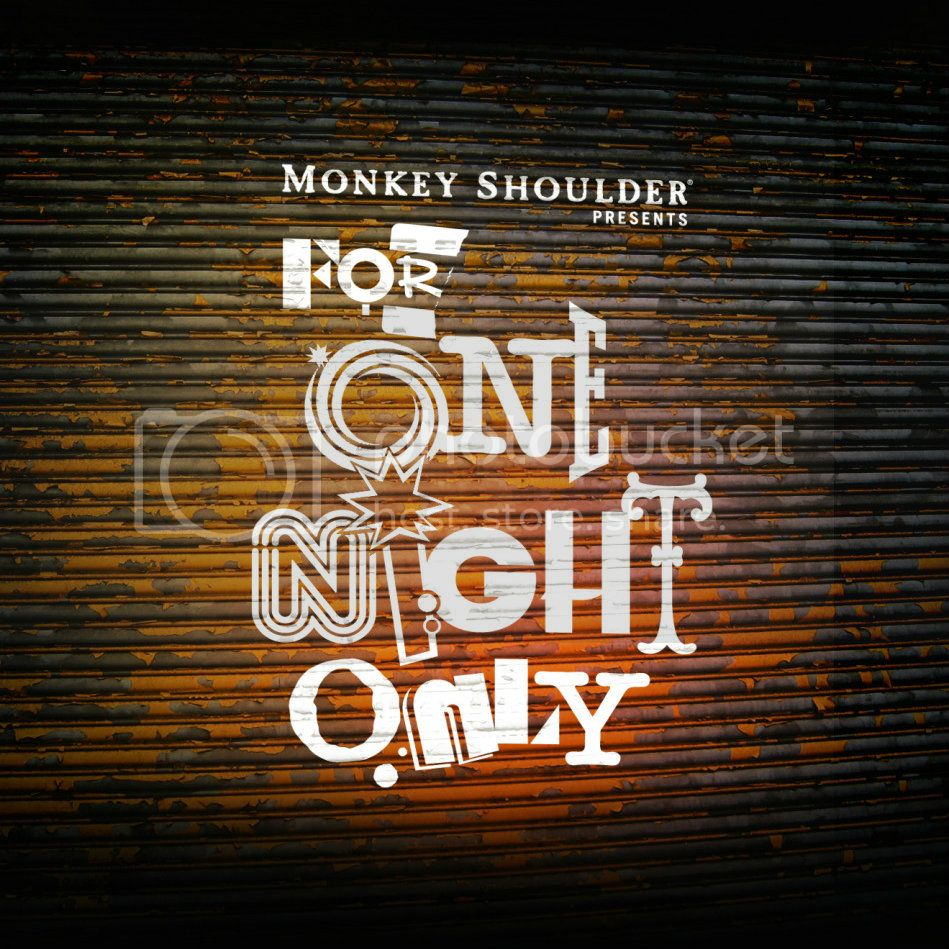 FONO monkey shoulder2 Event: Monkey Shoulder For One Night Only