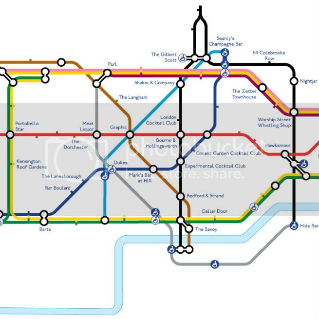 tube map of cocktail bars 2 1 Home
