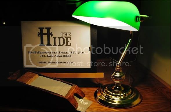hide 1 Hide Bar (London)