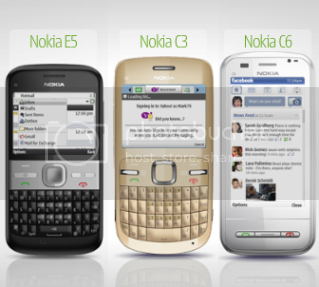 Nokia C3 C6 E5