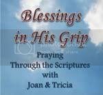 Blessings in His Grip Button